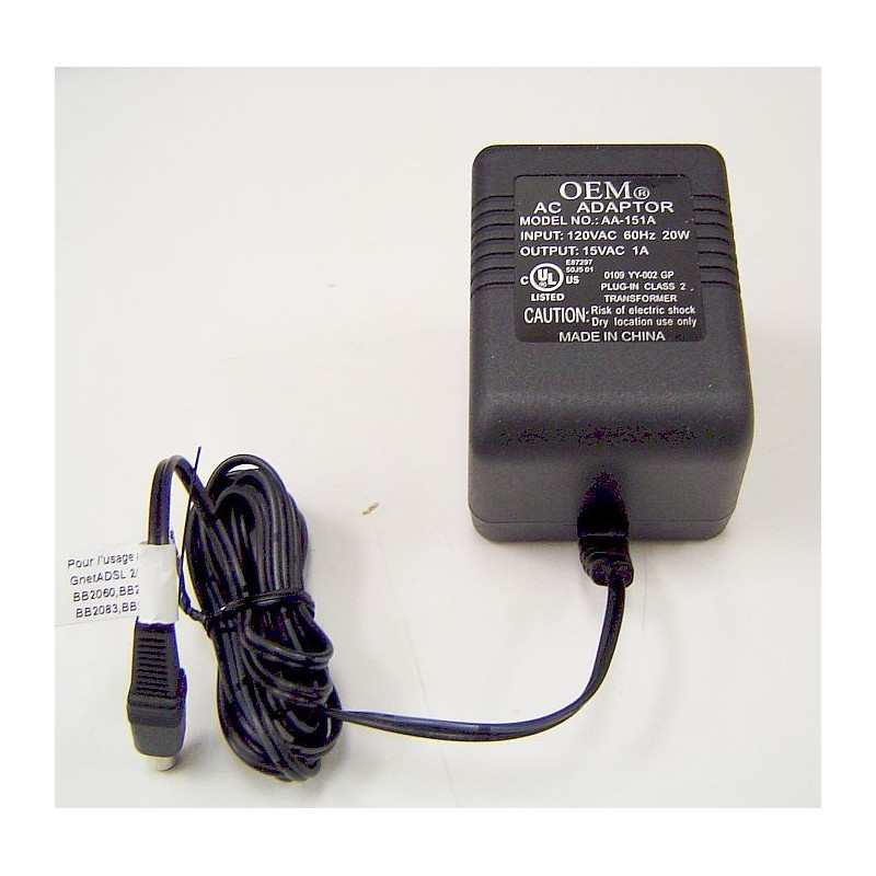 Gnet AC Adapter
